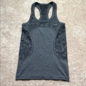 Grey Lululemon Tank Top